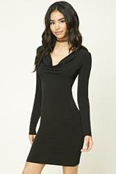 Forever 21 Cowl Neck Bodycon Dress
