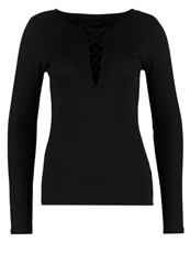 Vila Viran Long Sleeved Top Black