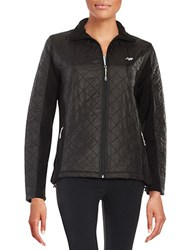 New Balance Quilted Jacket Black