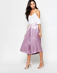 Girls On Film Culottes Pink