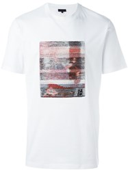 Lanvin Abstract Print T Shirt White