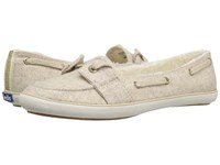 Keds Teacup Boat Wool Shearling Oatmeal Women's Slip On Shoes Brown