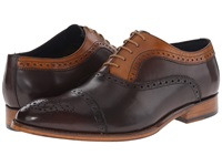 Messico Antonio Vintage Dark Brown Honey Leather Men's Flat Shoes