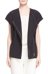 Women's Vince Cap Sleeve Zip Front Jacket