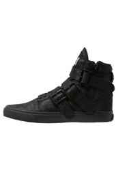 Radii Footwear Straight Jacket Hightop Trainers Schwarz Black