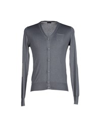 Paolo Pecora Knitwear Cardigans Men Dove Grey