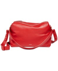 Skagen Large Rhone Satchel Red