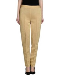 Moschino Couture Casual Pants Gold