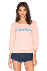 Wildfox Couture Waterbaby Tee Coral