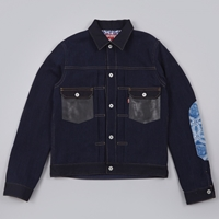 Junya Watanabe Man X Levi's W Name Dobby Jacket Light Indigo