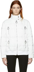 Courreges White Quilted Jacket