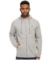 Matix Clothing Company Monostack Zip Fleece Heather Grey Men's Sweatshirt Gray