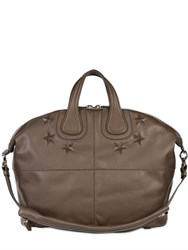 Givenchy Embossed Stars Nightingale Leather Bag