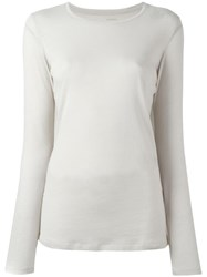 Majestic Filatures Crew Neck Jumper Nude Neutrals