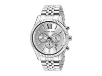 Michael Kors Lexington Mk8405 Stainless Steel Watches Silver
