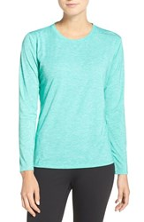 Brooks Women's 'Distance' Long Sleeve Tee Heather Parque