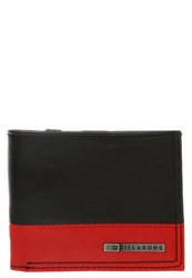 Billabong Dimension Wallet Black Red