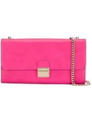 Furla 'Sinfonia' Pochette Bag Pink And Purple