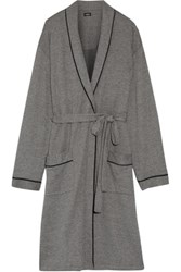 Cosabella Cotton Blend Robe Anthracite