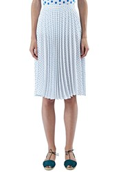 J.W.Anderson Polka Dot Pleated Skirt White
