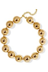 Kenneth Jay Lane Gold Plated Necklace
