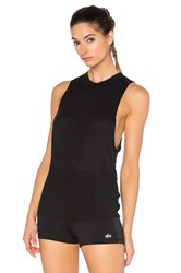 Alo Yoga Heat Wave Tank Black