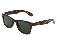 Polaroid Eyewear P8353 S Polarized A Havana Green Polarized Plastic Frame Fashion Sunglasses Brown