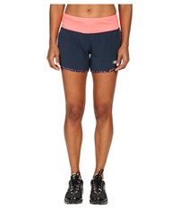 New Balance Impact 4 2 In 1 Shorts Guava Galaxy Women's Shorts Pink