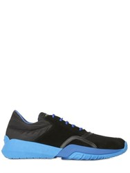 Serafini Nylon Cordura And Suede Sneakers