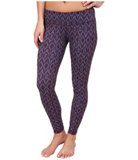 Prana Misty Legging Plum Baleen Women's Workout Purple