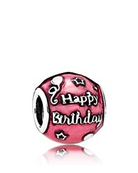 Pandora Design Charm Sterling Silver And Enamel Birthday Celebration Moments Collection