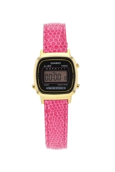 Topshop Casio Retro Watch Pink