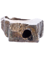 Alice Waese Carved Square Ring Metallic