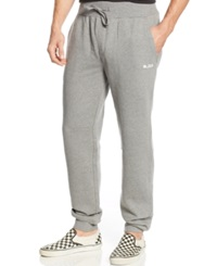Lrg Big And Tall Grassroots Joggers Charcoal Heather