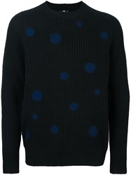 Paul Smith Ps By Ribbed Jumper Black