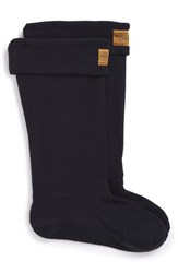 Joules Women's 'Welton' Fleece Welly Socks Marine Navy