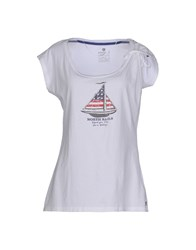 North Sails Topwear T Shirts Women White