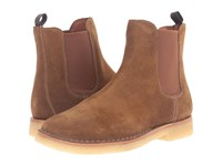 Frye Arden Chelsea Khaki Oiled Suede Men's Pull On Boots