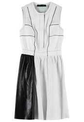 Proenza Schouler Perforated Leather Dress