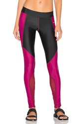 Lovers Friends Work By One For The Road Legging Burgundy
