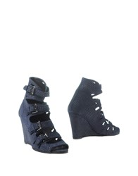Surface To Air Footwear Ankle Boots Women Dark Blue