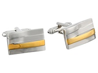 Stacy Adams Cuff Links Silver Gold Cuff Links