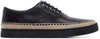 Alexander Wang Black Leather Asher Sneakers
