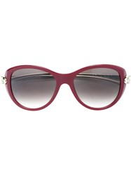 Cartier 'Panthere Wild' Sunglasses Red