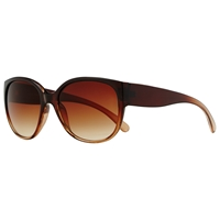 John Lewis Square Frame Sunglasses Graduated Brown