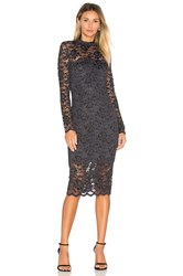 Ganni Flynn Lace Dress Black