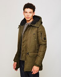 Spiewak Aviation Snorkel Hooded Parka Green