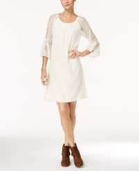 Styleandco. Style Co. Off The Shoulder Lace Dress Only At Macy's Warm Ivory