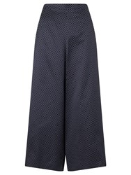 Alice By Temperley Somerset By Alice Temperley Pin Dot Wide Leg Culottes Navy