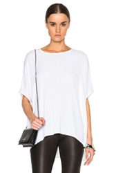 James Perse Limited Poncho Top In White